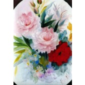 Bob Ross Floral Packet - Red/Pink Roses
