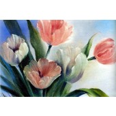 Bob Ross Floral Packet - Pastel Tulips