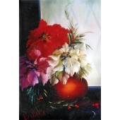 Bob Ross Floral Packet - Poinsettias