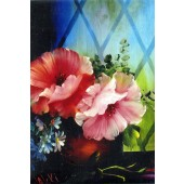 Bob Ross Floral Packet - Poppies Window