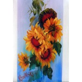Bob Ross Floral Packet - Sunflowers