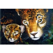 Bob Ross Wildlife Packet - Mother and Baby Jag