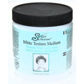 Susan Scheewe White Texture Medium, 8 oz