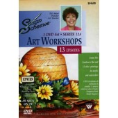 Susan Scheewe Art Workshop Series 12A, 3 DVD Set Front Cover