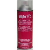 Hi-Shine Clearcote Glaze, Deep Gloss, 11 oz. - Flammable