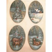 Four Tidings Ornament Collection Packet