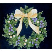 Winter Wreath with Bow, Arlene Linton Packet