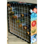 Craft Paint Storage Rack Design Packet, Shara Reiner
