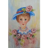 Rosie Watercolor Greeting Card Packet