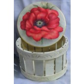 A Single Poppy Basket, Mary Wiseman Packet