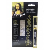 Gold, Adhesive Pen and Simple Leaf Kit