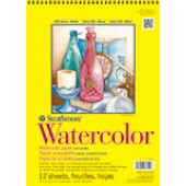 "18"" x 24"" 140 lb Strathmore Watercolor Paper, 12 Sheets"
