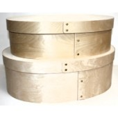 Bentwood Super-Oval Hat Box