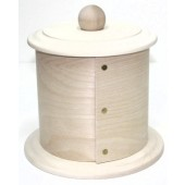 Fancy Bentwood Canister