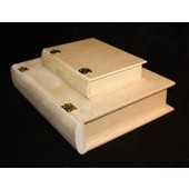 "12"" Large Wooden Book Box"