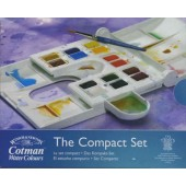 The Compact Cotman Watercolor Set