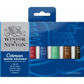 6 Tube Cotman Watercolor Set