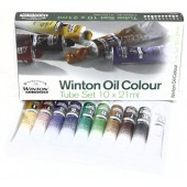 Winton Oil Colour Starter Set, 10 - 21ml tubes