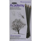 Derwent Academy Sketching Pencil Tin, Set of 12