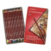 Derwent 12 Pastel Pencil Set