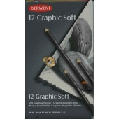 Derwent Graphic Soft Pencil Set of 12