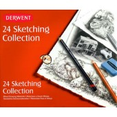 Derwent 24 Piece Sketching Collection