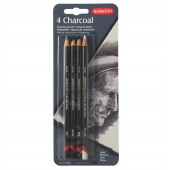 Derwent Charcoal Pencils, Set of Four