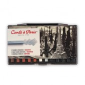 12 Assorted Carres Esquisse, Conte