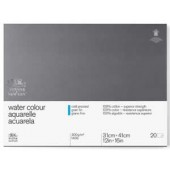 12 x 16 inch Professional Watercolor Block, 20 Sheets