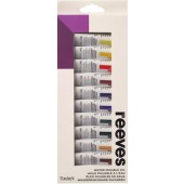 Reeves Water Mixable Oil Set, 12 - 10 ml Tubes