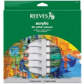 Reeves 20-22 ml Acrylic Color Tube Set