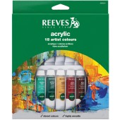 Reeves Acrylic Color 18 tubes