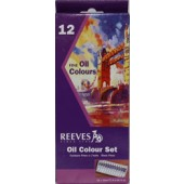 12 tube Reeves Fine Oil Color Set