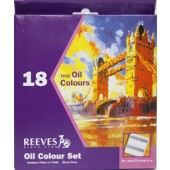 18 tube Reeves Fine Oil Color Set