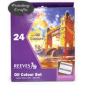 24 tube Reeves Oil Color Set