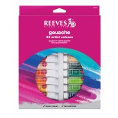Reeves Gouache 24 Tube Set
