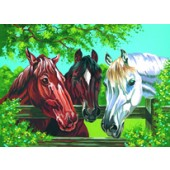 Horses, Reeves Senior Paint by Number