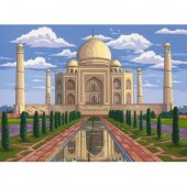 Taj Mahal, Reeves Senior Paint by Number