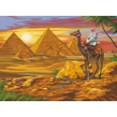 Egyptian Desert, Reeves Senior Paint by Number