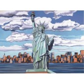 Statue of Liberty, Reeves Senior Painting by Number
