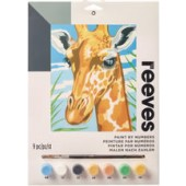 Giraffe, Reeves Medium Paint by Number