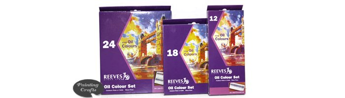 Reeves Oil Color Sets