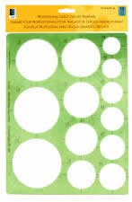 1-1/4 inch To 3-1/2 inch Giant Professional Circle Template