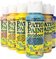 Decoart Patio Paint Outdoor Paint Painting Crafts Division Of Hofcraft The Painters Source