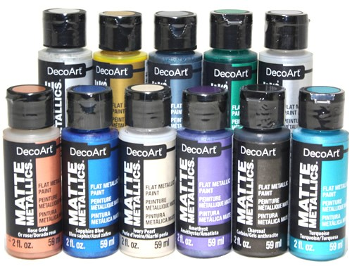 DecoArt Matte Metallics, 2 oz.