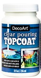 DecoArt Clear Pouring TopCoat, 8 oz.