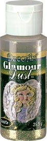 Gold Glamour Dust, 2 oz. DecoArt