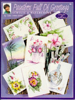 Paint Box Full of Greetings Front Cover by Susan Scheewe-Brown