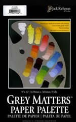 9 x 12 in Grey Matters Paper Palette, 50 sheets