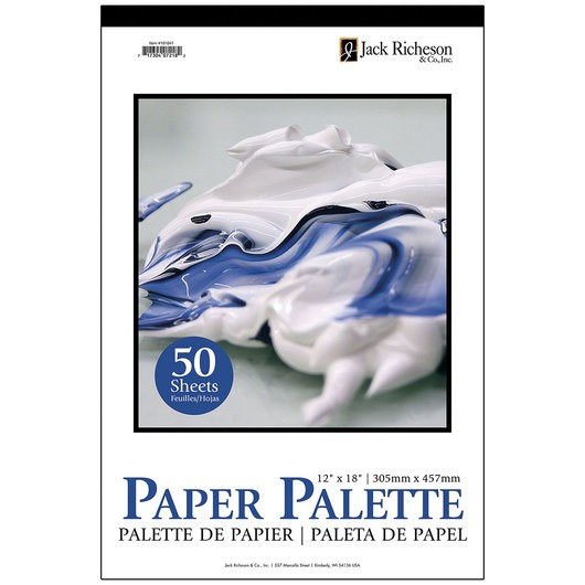 Jack Richeson Paper Palette, 9 in x 12 in